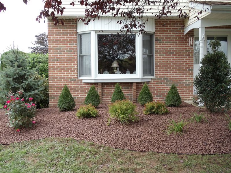 Landscaping With Stone And Mulch : Landscape renovation gallery steve greco landscaping inc